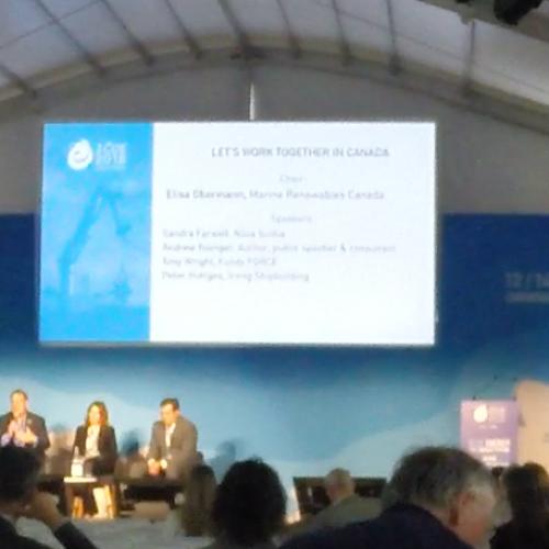 Stakeholder Engagement – International Conference on Ocean Energy Remarks